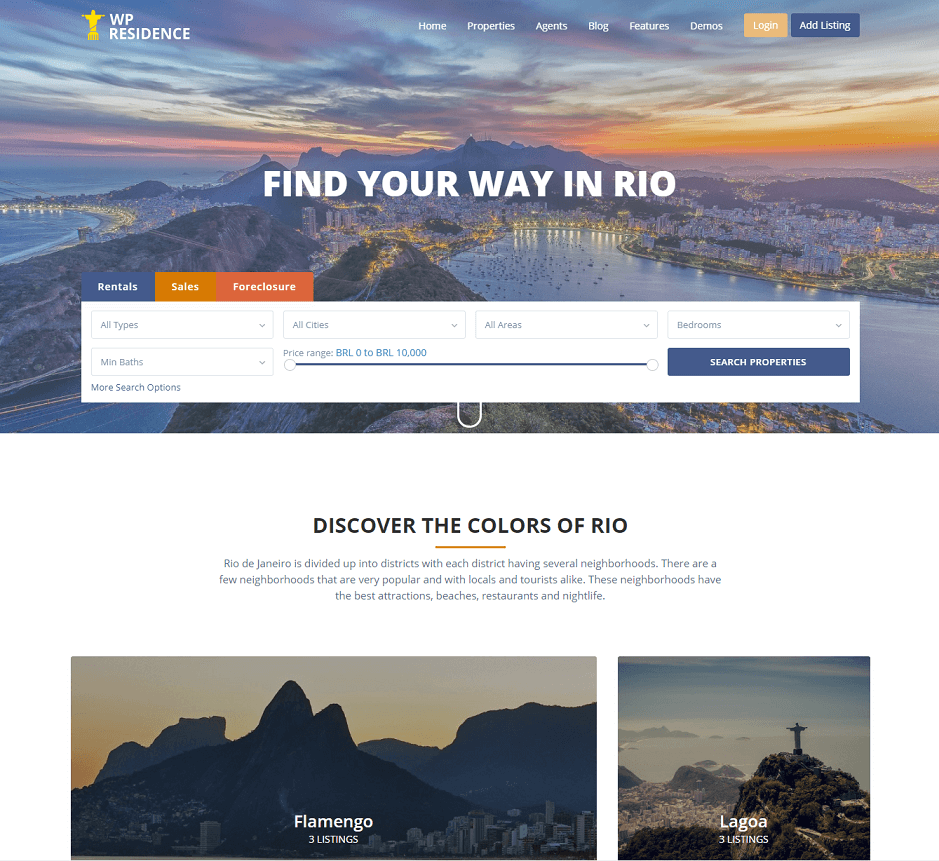 Rio WpResidence Demo – Just another WordPress site